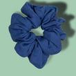Ocean Blue Scrunchie