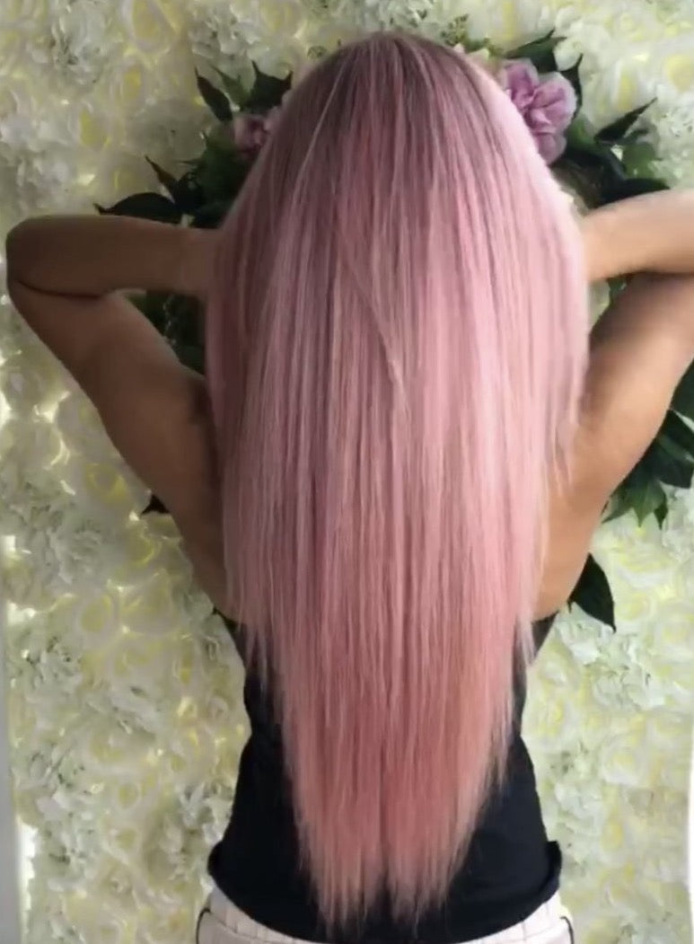 Pretty In Pink - Journey Hair