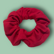 The Comfy Red Scrunchie