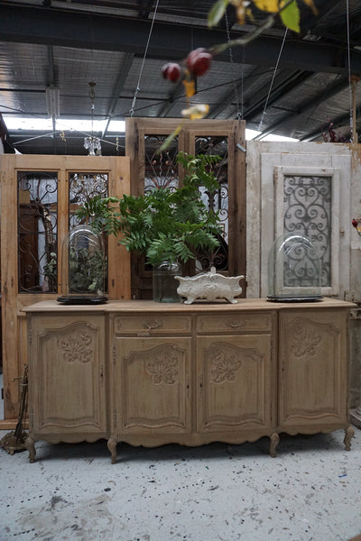 Antique French 4 Door Sideboard
