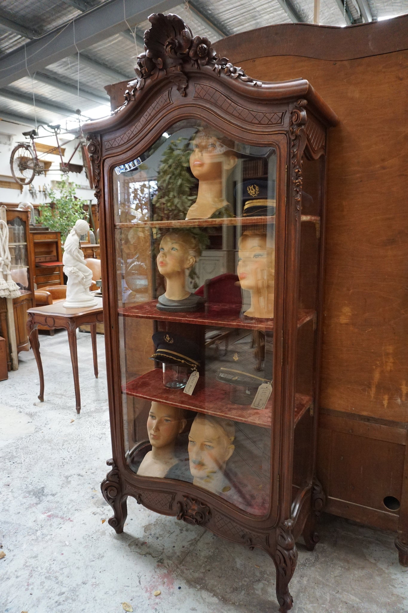 Antique French Louis XV Vitrine