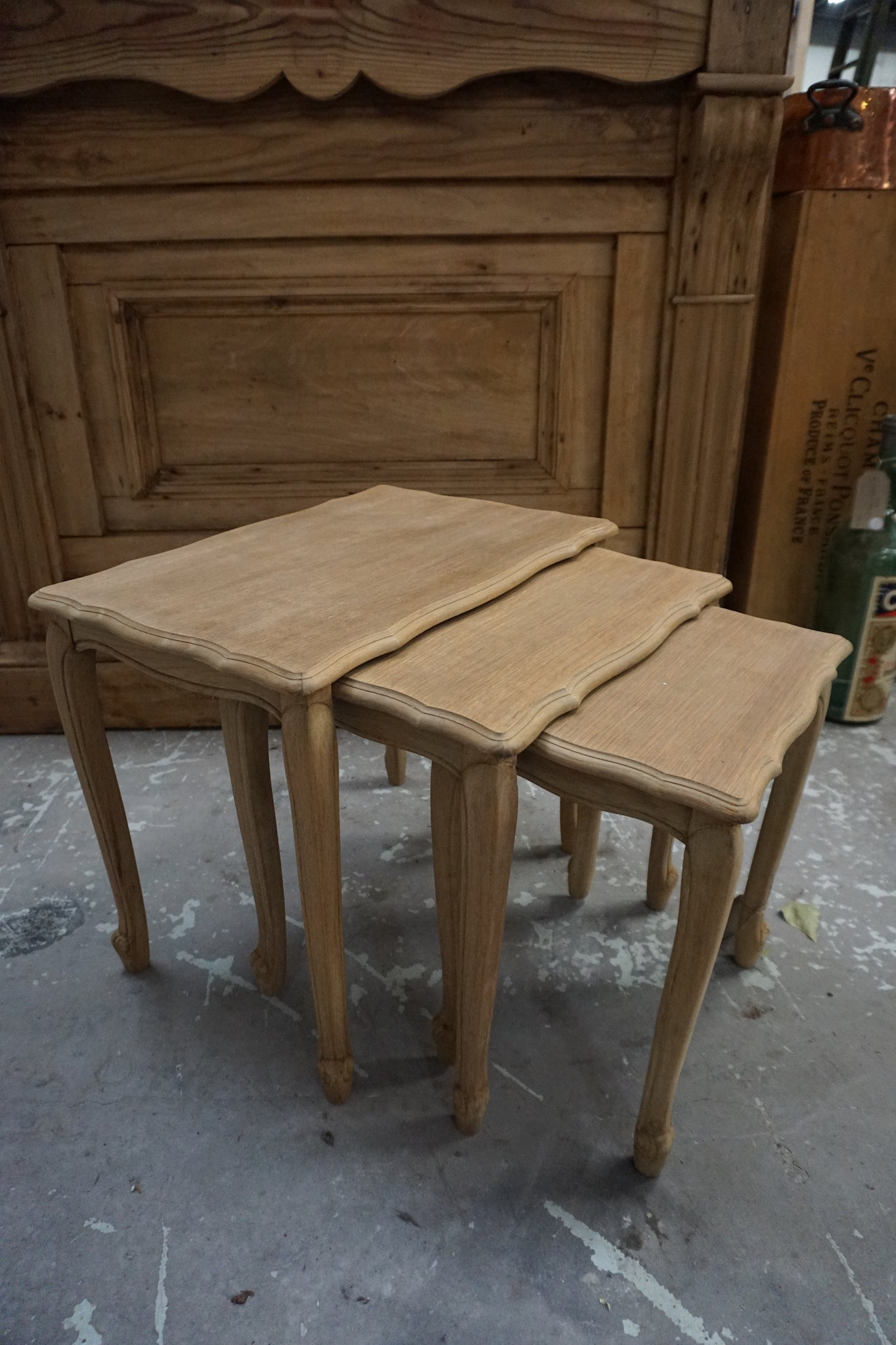 Antique French Nest of Tables - Set of 3