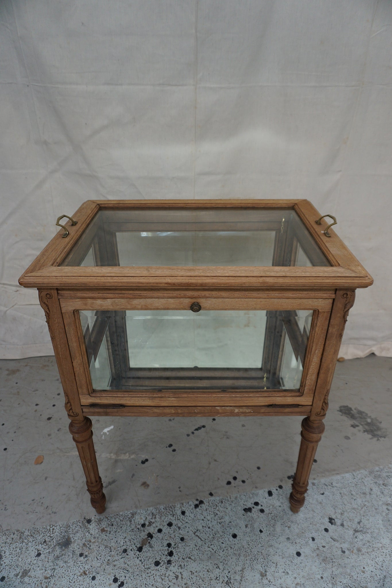 Antique French Oak Drinks Cabinet