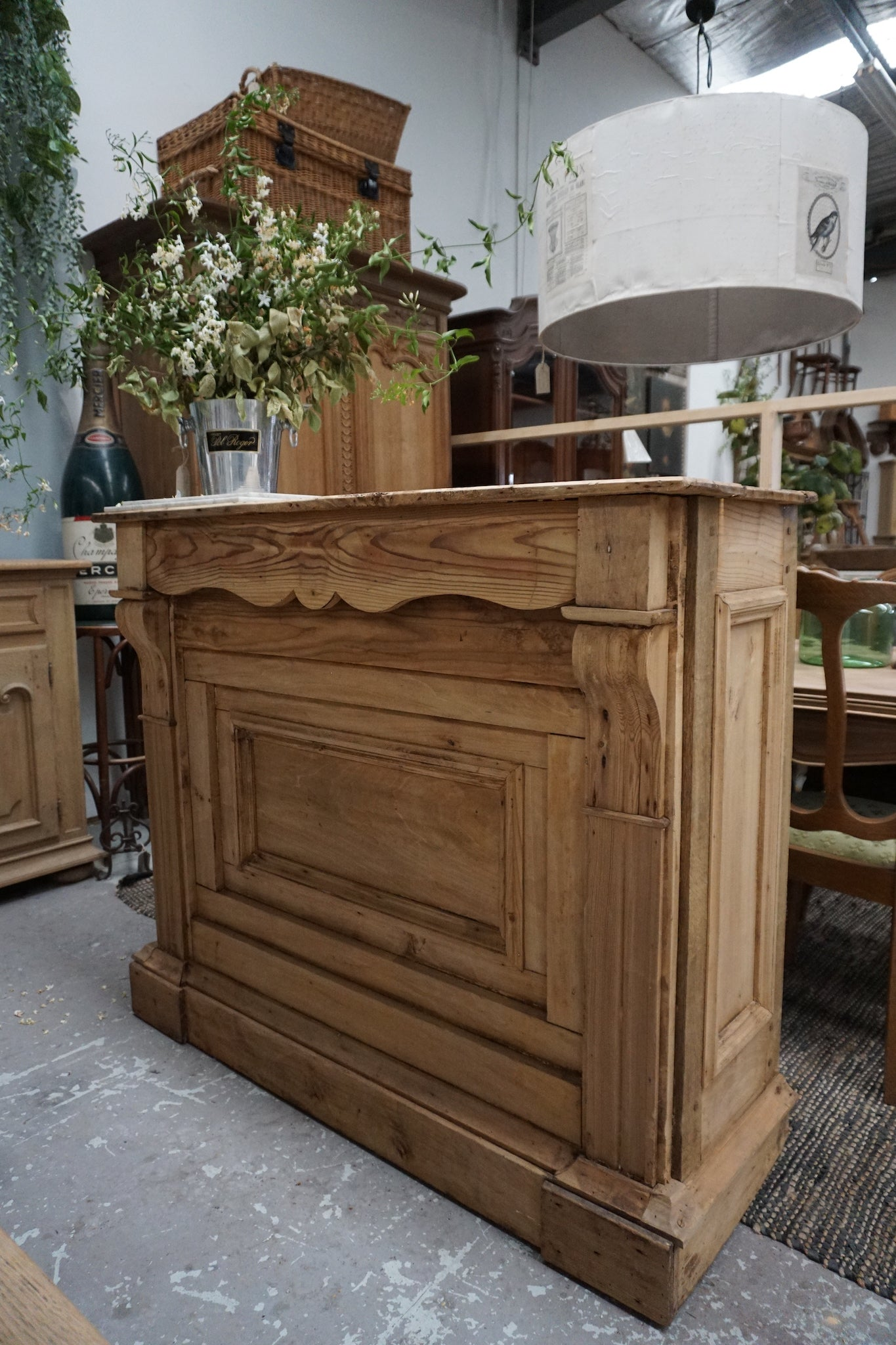 Antique French Counter/Bar