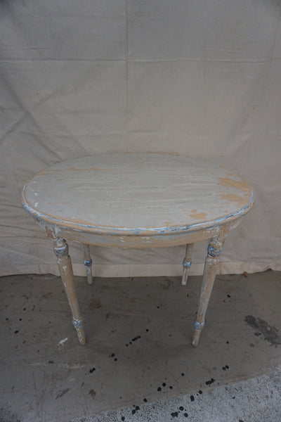 Antique Swedish Oval Table