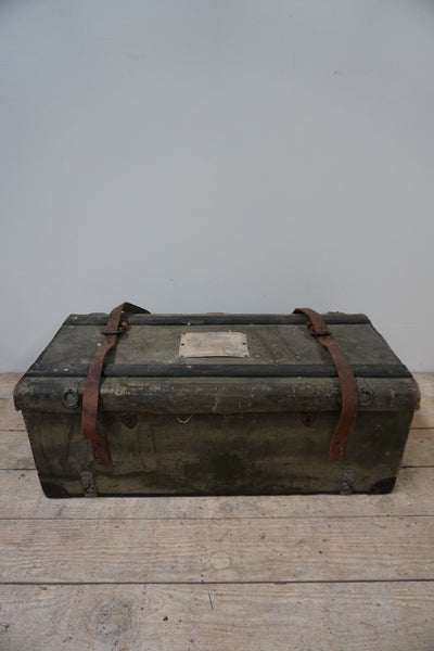 Antique French Car Travelling Trunk