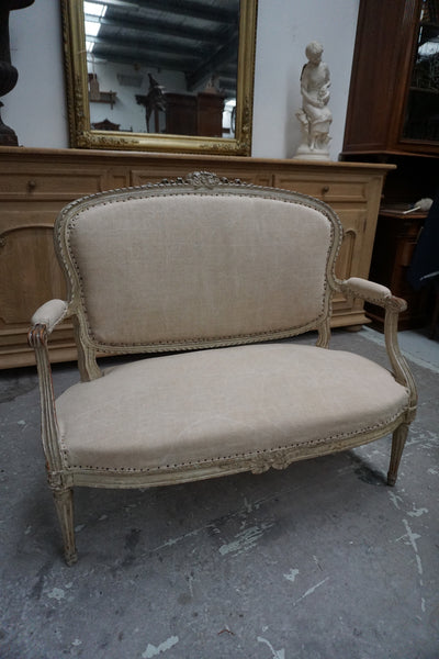 Antique French 2 Seater Canapé