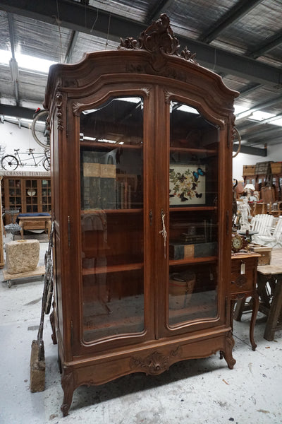 Antique French 2 Door Louis XV Armoire