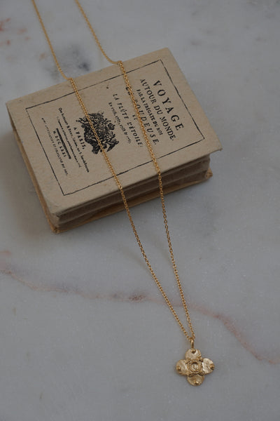India Medal & Chain Necklace