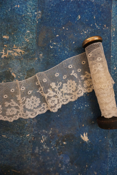 Antique French Machine Lace