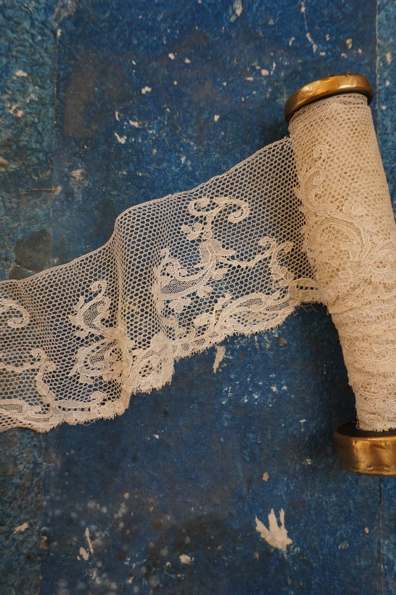 Antique French Lace Strip