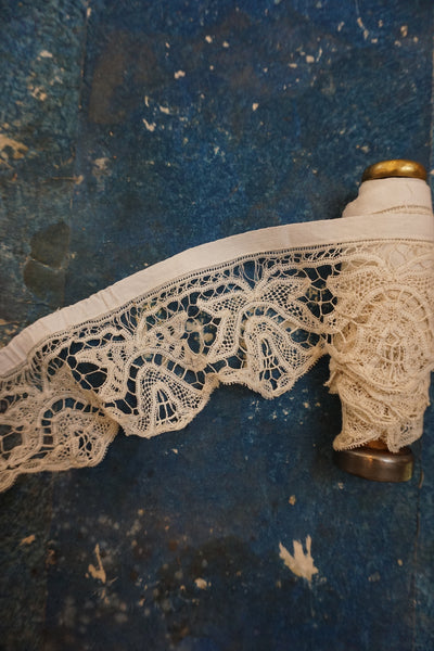 Antique French Handmade Lace Tape