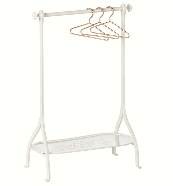 Maileg Clothes Rack Off White