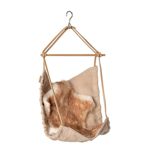 Maileg Hanging Chair with Rug