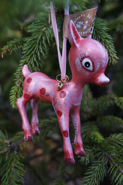 Nathalie Lété Christmas Deer Ornament