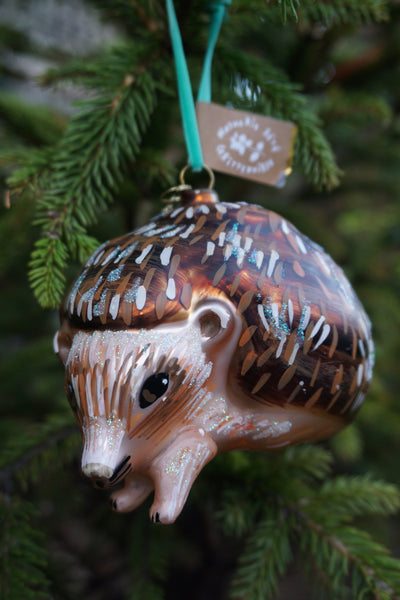 Nathalie Lété Christmas Hedgehog Ornament