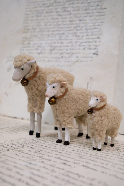 Nostalgic Easter Sheep Decorations