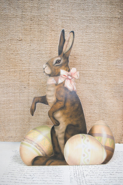 Nostalgic 'Easter Bunny' Standing Decoration