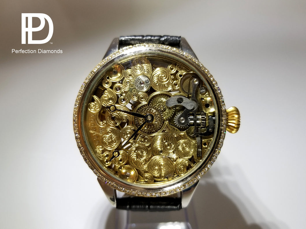 Perfection Diamonds MV-Series Omega 1.01 CTW Diamond Watch