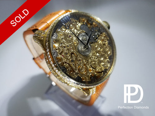 Perfection Diamonds MV-Series Omega 2.07 CTW Diamond Watch
