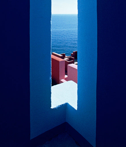 Ricardo Bofill's La Muralla Roja is a building that I find incredibly evocative.