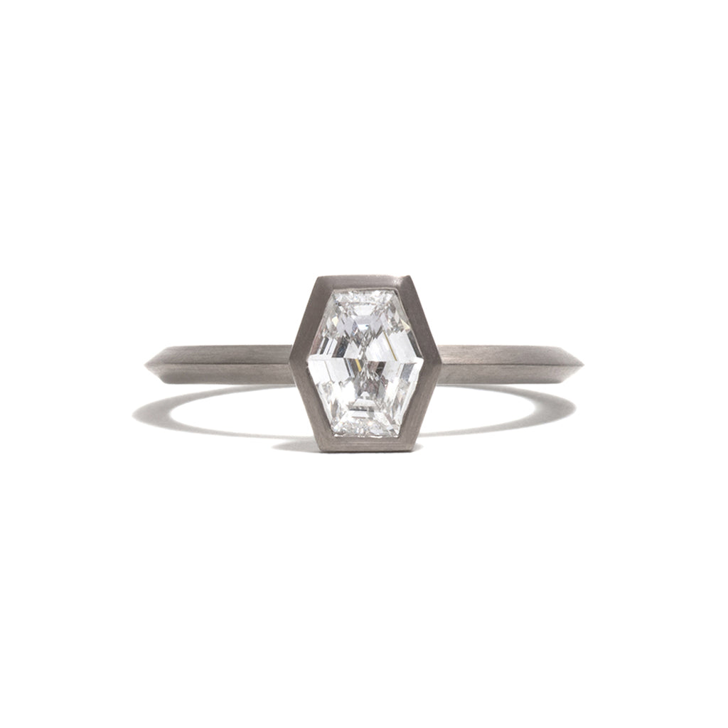 Modified Hexagonal Diamond Elevate Ring