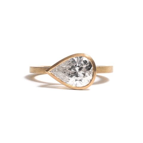 Pear Cut Diamond Elevate Ring