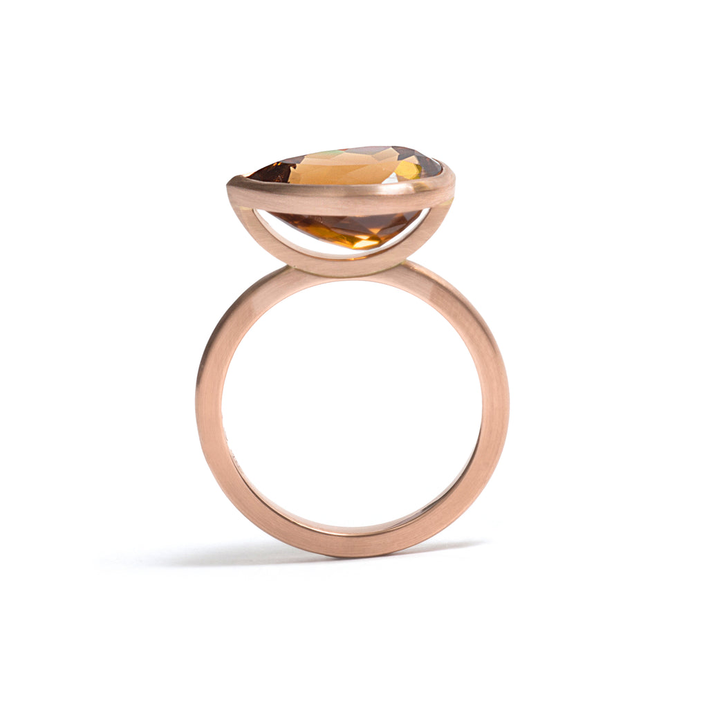 Pear Cut Zircon Elevate Ring
