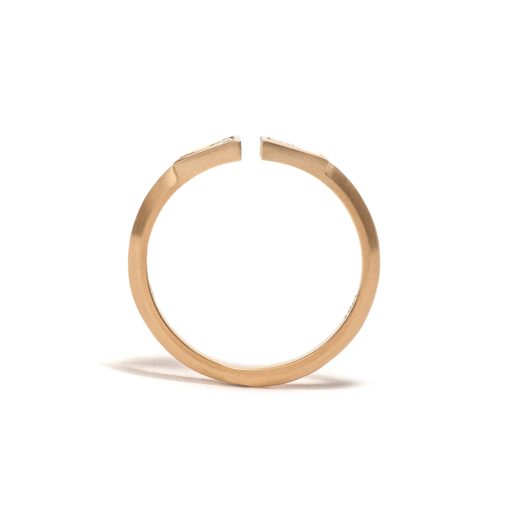 Double Tapered Baguette Ring