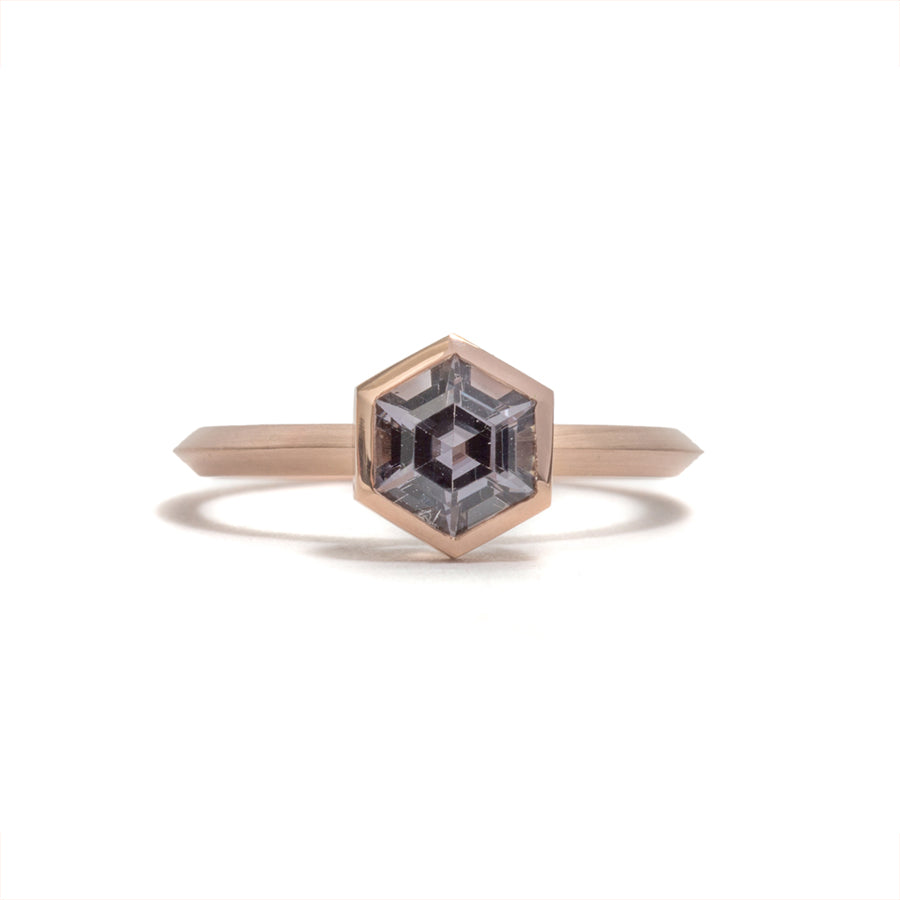 Hexagonal Spinel Elevate Ring
