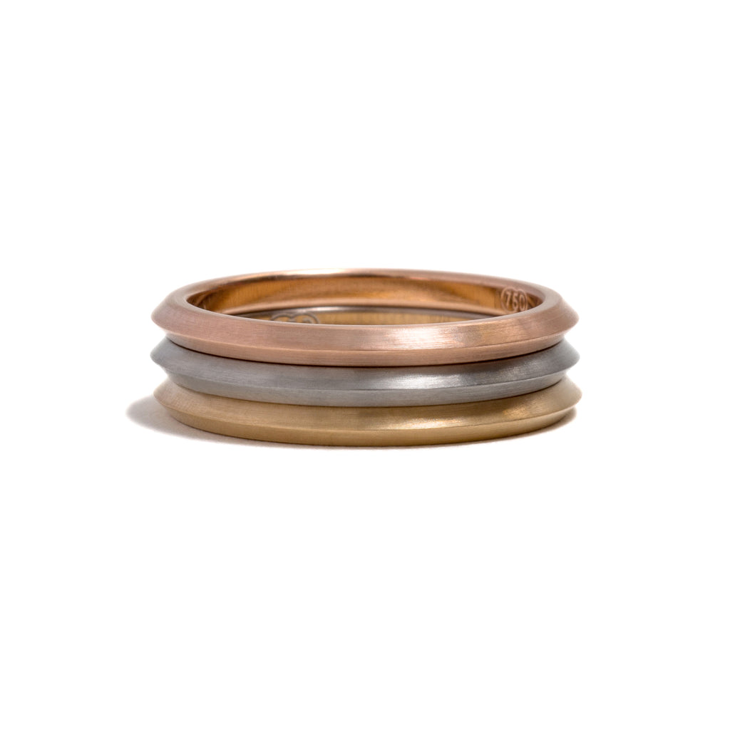 Rose Gold You and Me Ring