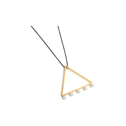 Large Golden Triangle Neckpiece