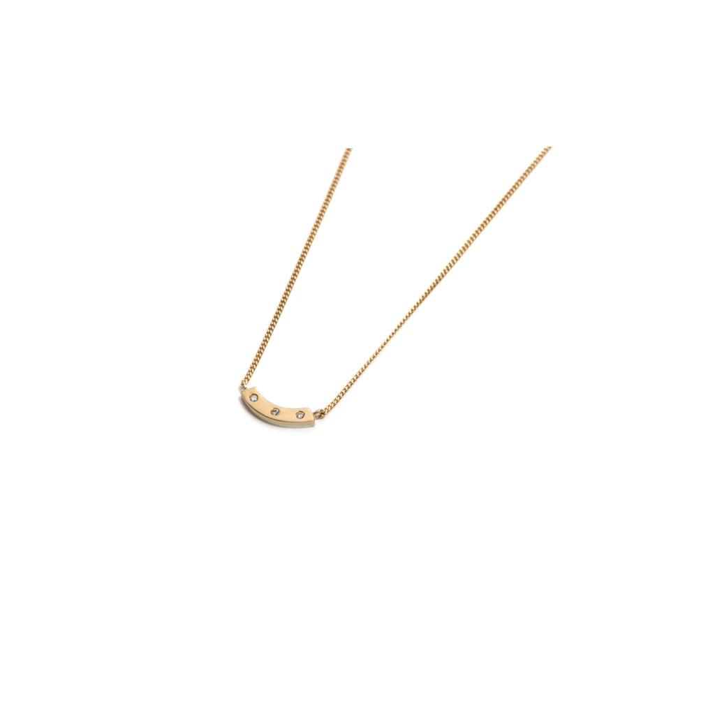 Yellow Gold Little Smile Pendant