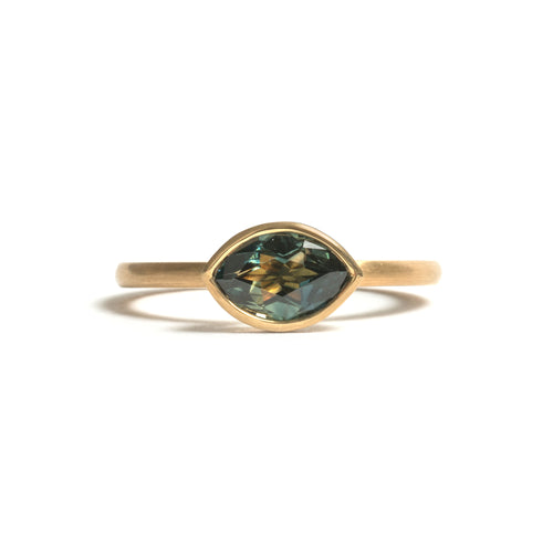Marquise Parti Sapphire Elevate Ring
