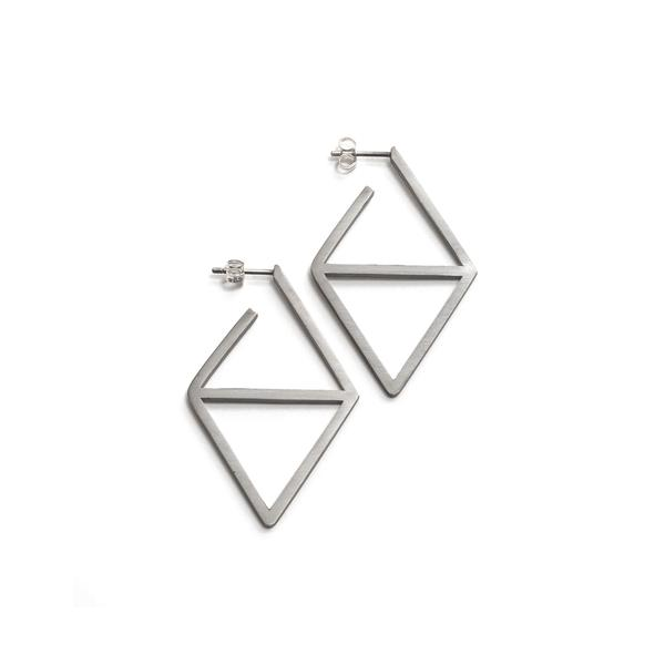 Triangle Mirror Earrings