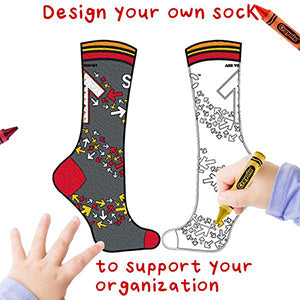 Design your own custom socks