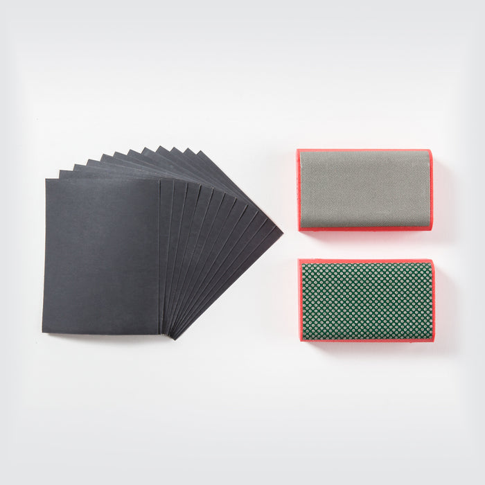Saber Tooth Diamond Sanding Pad Kit