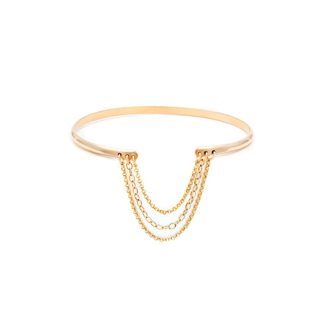 Arabesque Bangle - Gold