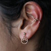 Filigree Ear Cuff - Silver