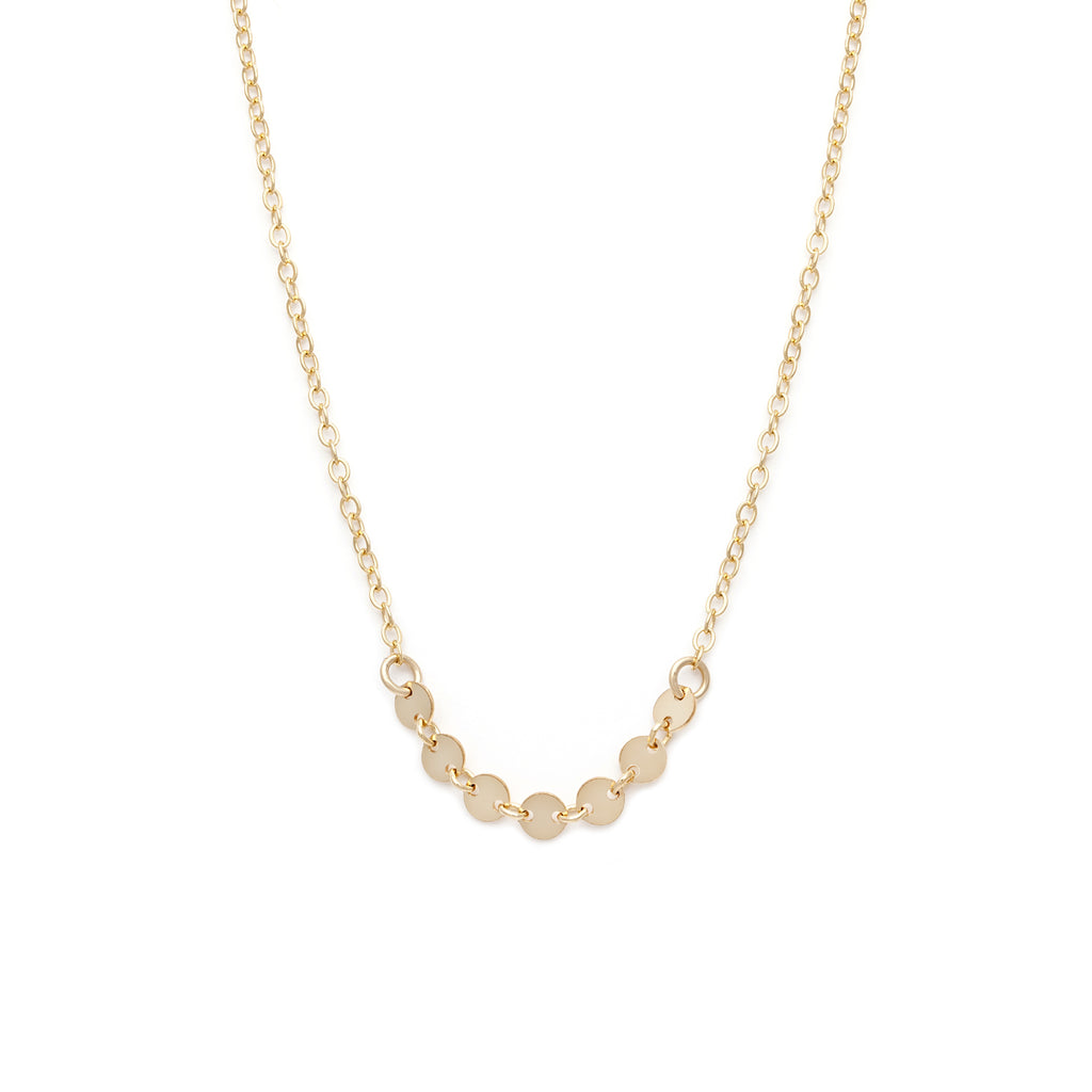 Coin Necklace - Gold