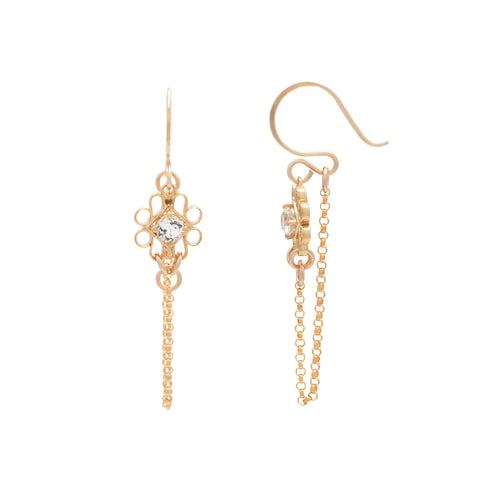 Ella Earrings - Gold