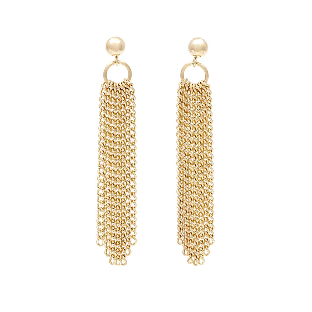 Flourish Earrings - Gold