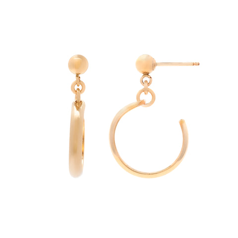 *New* Cuff Hoops - Gold