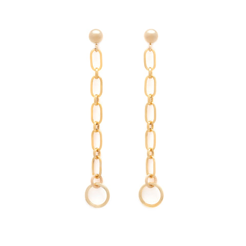 Jolie Earrings - Gold