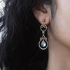 Mini Athena Earrings - Gold