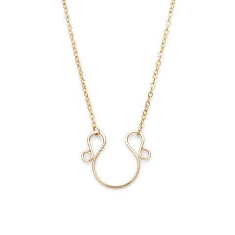 Omega Necklace - Gold