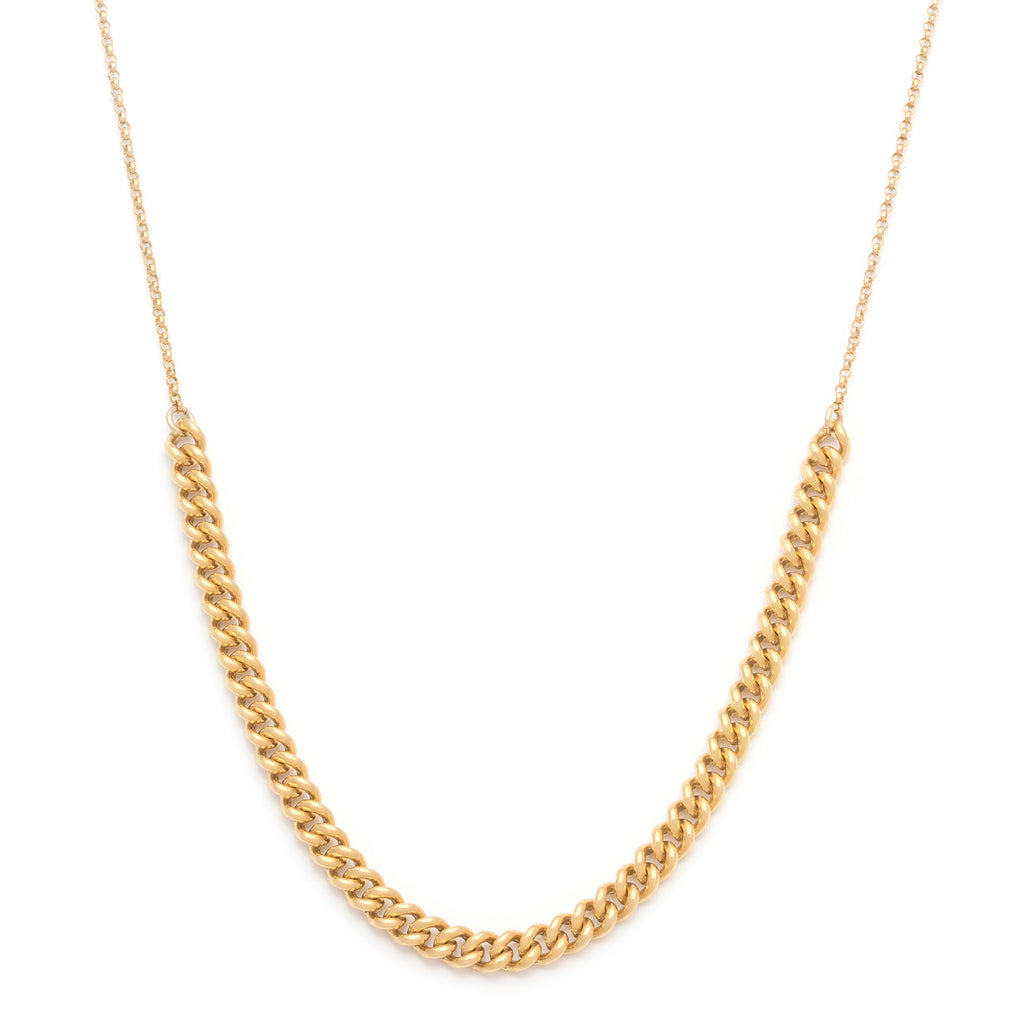 Cropped Rayne Necklace - Gold