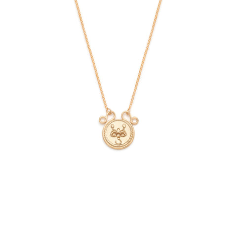 Zodiac Necklace - Gold