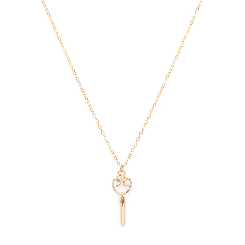 Mini Alice Necklace - Gold