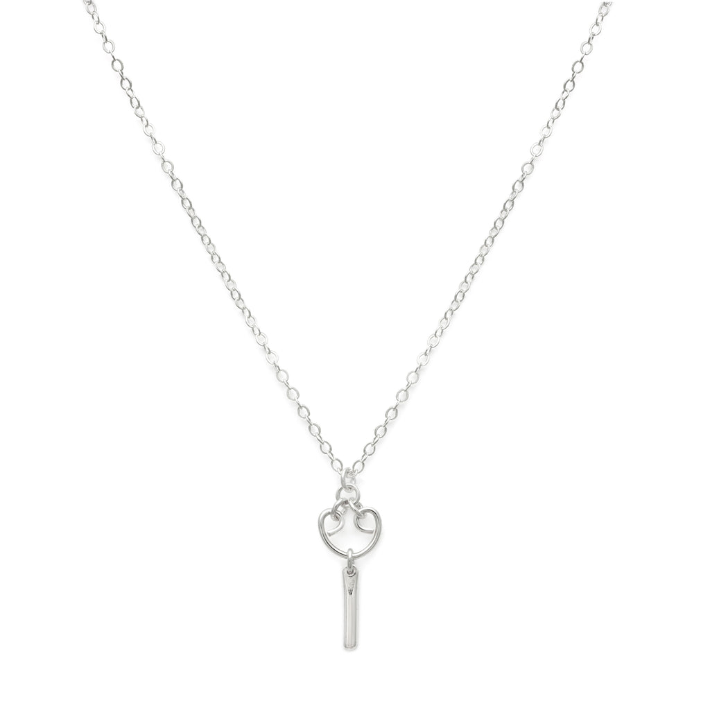 Mini Alice Necklace - Silver